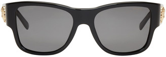 Versace Black Medusa Sunglasses $270 thestylecure.com