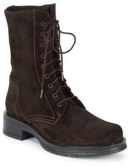 La Canadienne Ginny Waterproof Suede Mid-Calf Boots