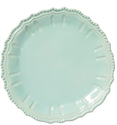 Incanto Stone Aqua Baroque Round Platter