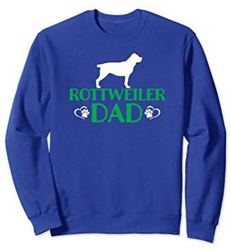 Rottweiler Dog Dad Dog Owner Sweatshirt