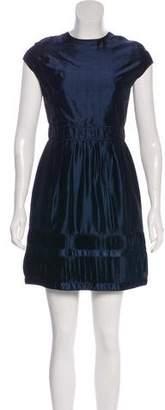 Burberry Satin Mini Dress