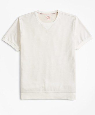 Brooks Brothers French Terry Short-Sleeve Sweatshirt
