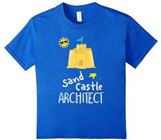 Sand Castle Architect! Funny Beach Wear T-Shirt