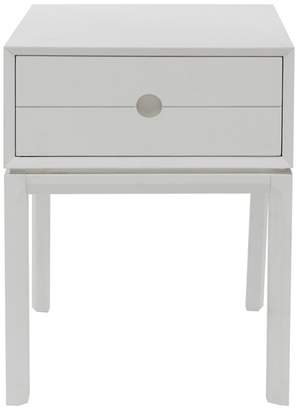 J by Jasper Conran White Painted 'Ellsworth' Bedside Cabinet With Single Drawer