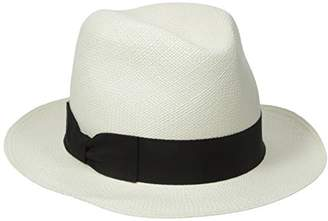 Hat Attack Women's Original Panama Hat with Classic Bow Trim