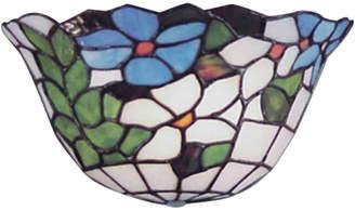 Dale Tiffany Flower Basket Wall Sconce