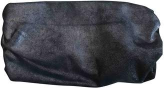 Maison Margiela Anthracite Leather Clutch Bag