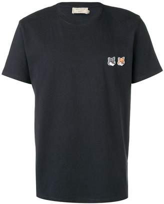 MAISON KITSUNÉ embroidered T-shirt