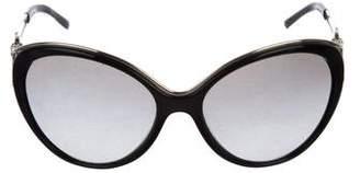 Versace Oversize Cat- Eye Sunglasses
