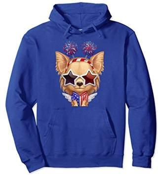 DAY Birger et Mikkelsen Fawn Longhaired Chihuahua Independence Pullover Hoodie