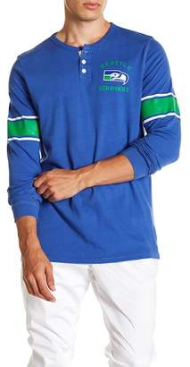 Junk Food Clothing Seattle Seahawks Huddle Henley Shirt