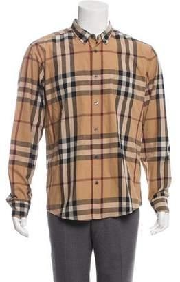 Burberry Nova Check Dress Shirt