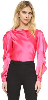 Zac Posen Silk Blouse $1,190 thestylecure.com