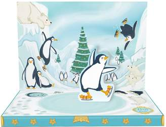 Original Penguin Music Box Cards Musical Christmas Card