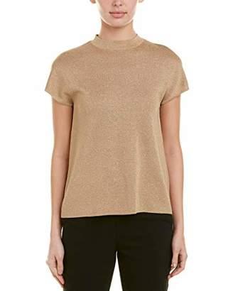Short Sleeve Mock Neck Sweater Shopstyle
