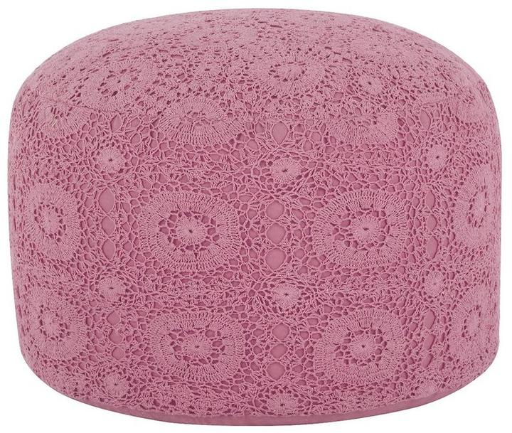 Fearne Cotton Coco Crochet Pouffe Home