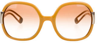 Tory Burch Oversize Tinted Sunglasses