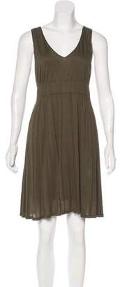 Theyskens' Theory Sleeveless Knee-Length Dress