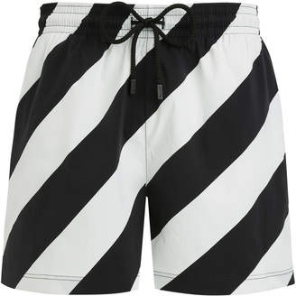 2a088adc759f1 Off-White White Men's Swimsuits - ShopStyle