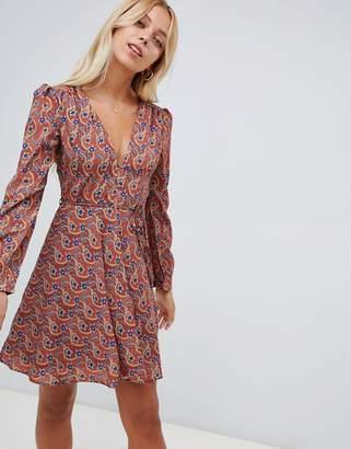 1e8b995fb6 Glamorous floral print skater dress