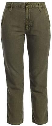 Dakota Trave High Rise Ankle Cargo Jeans