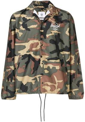 Herschel camouflage wind breaker jacket