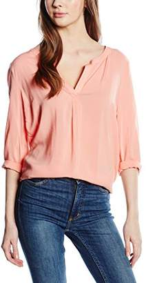 More & More 3/4 Arm Normal Brenda, Blouse Woman, Pink (Soft Melon 0403), 40