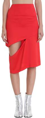 Maison Margiela Cut Out Skirt