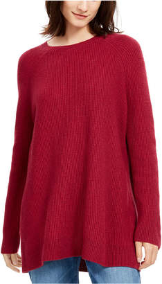 Eileen Fisher Bateau-Neck Tunic Sweater