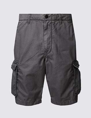 Marks and Spencer Pure Cotton Authentic Cargo Shorts
