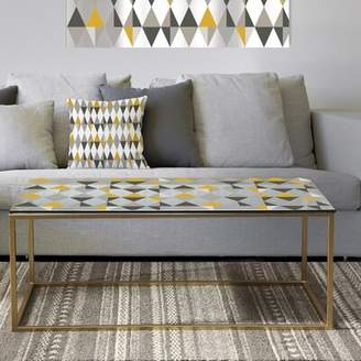 East Urban Home Designart 'Dogwood In Spring Neutral' Traditional Coffee Table East Urban Home