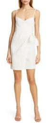 Rebecca Taylor Pinstripe Cotton & Linen Dress
