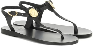 Ancient Greek Sandals Lito Coin leather sandals