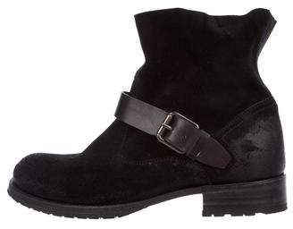 NDC Biker Low Suede Ankle Boots
