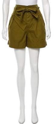 Etoile Isabel Marant Cargo High-Waist Shorts