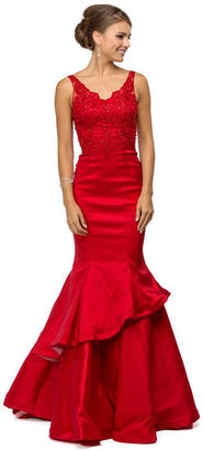 Dancing Queen V-Neck Mermaid Formal Dress $174 thestylecure.com