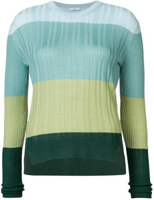 Tome colour-block fitted sweater