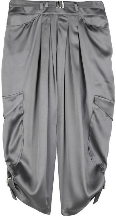 Anna Molinari Silk-satin harem pants