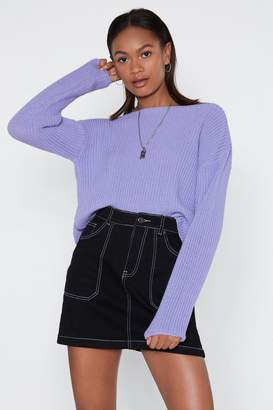 Nasty Gal Had Knit Up to Here Sweater