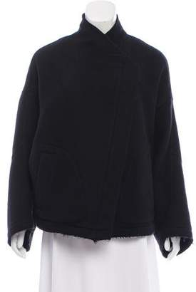 Damir Doma Cashmere Zip-Up Jacket
