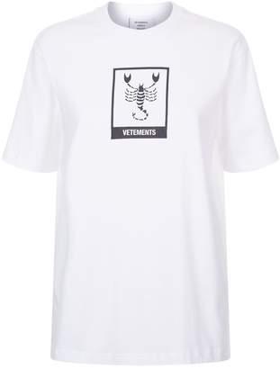 Vetements Scorpio Horoscope T-Shirt