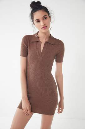 Urban Outfitters Marled Ribbed Knit Sweater Dress