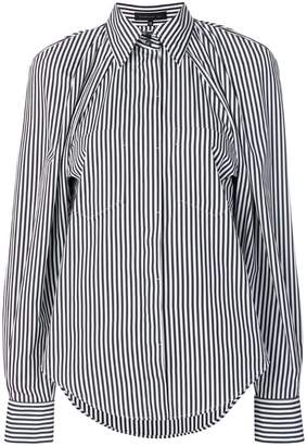 Barbara Bui striped long-sleeve shirt