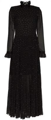 Philosophy di Lorenzo Serafini Ruffled high-necked dress
