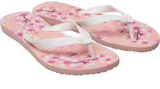 fdc2b4c456902a Ted Baker Womens Beaulup Blossom Print Flip Flops Pink