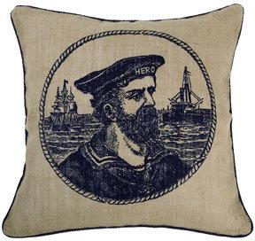 Thomas Paul Hero Jute Pillow