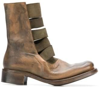 Cherevichkiotvichki multi-strap boots