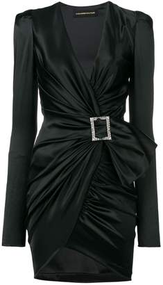 Alexandre Vauthier deep V-neck dress