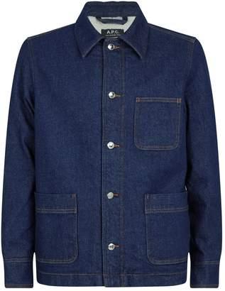 A.P.C. Workwear Denim Jacket