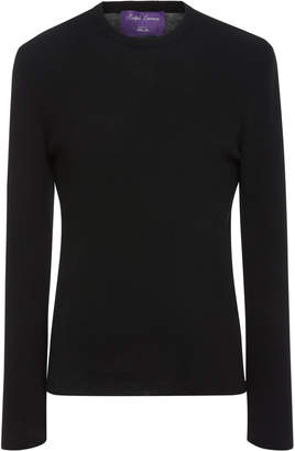 Ralph Lauren Rib-Knit Wool-Jersey Sweater